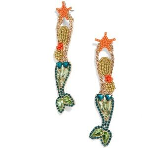 BAUBLEBAR Ariel Drop (Mermaid) Earrings